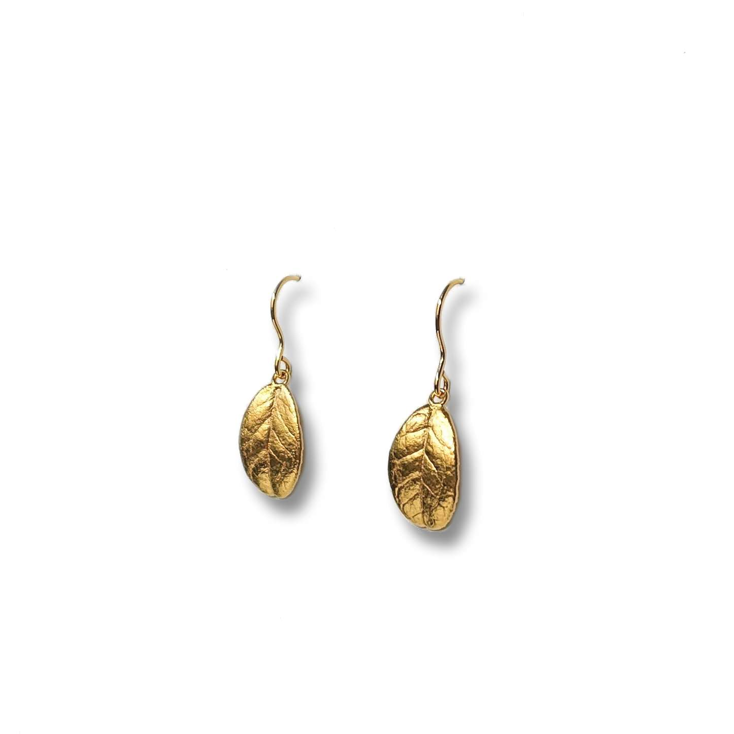 Eternal Lingon earrings, golden