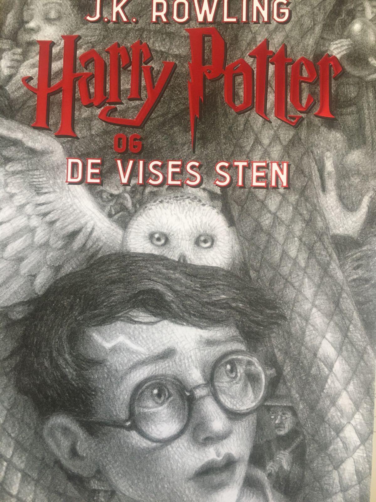 Harry Potter 1 - Harry Potter og de vises sten af J.K. Rowling
