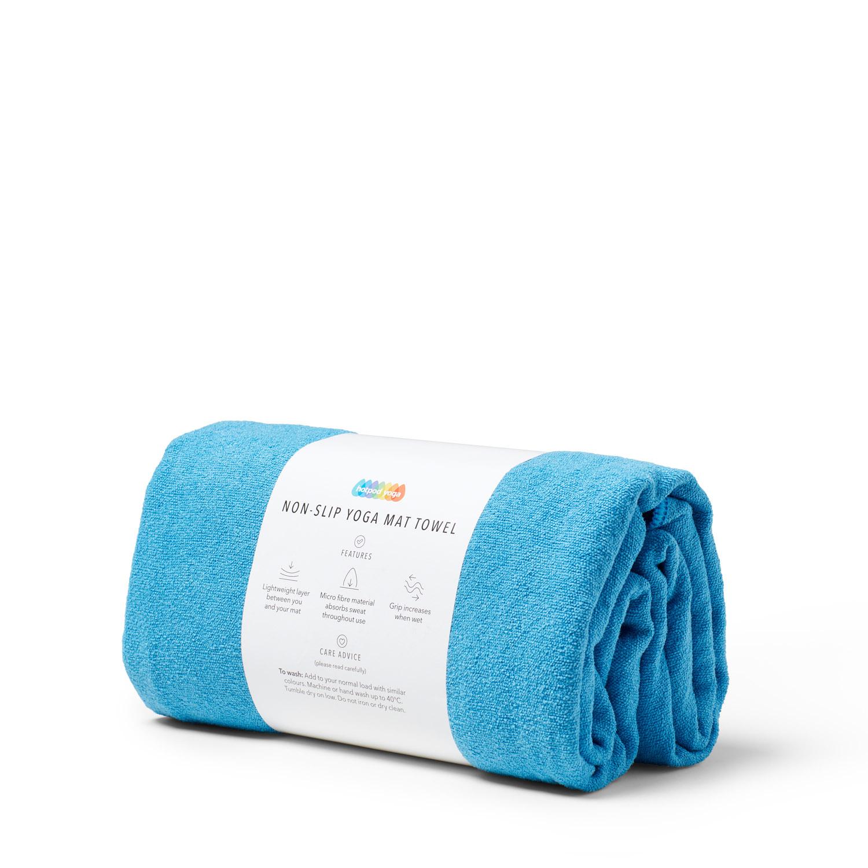 Non-Slip Yoga Towel - Blue