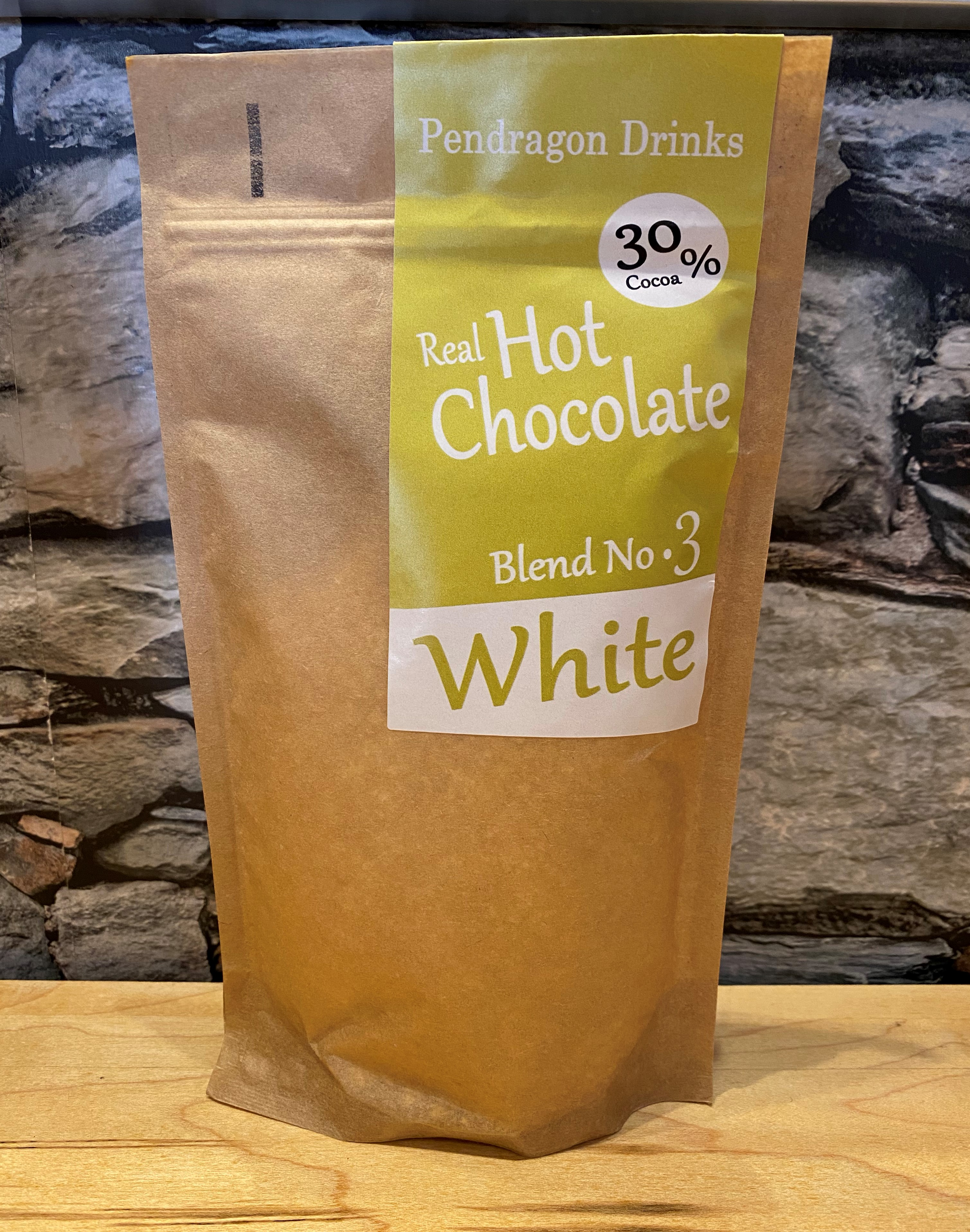 White Chocolate Flakes (250g) - Pendragon
