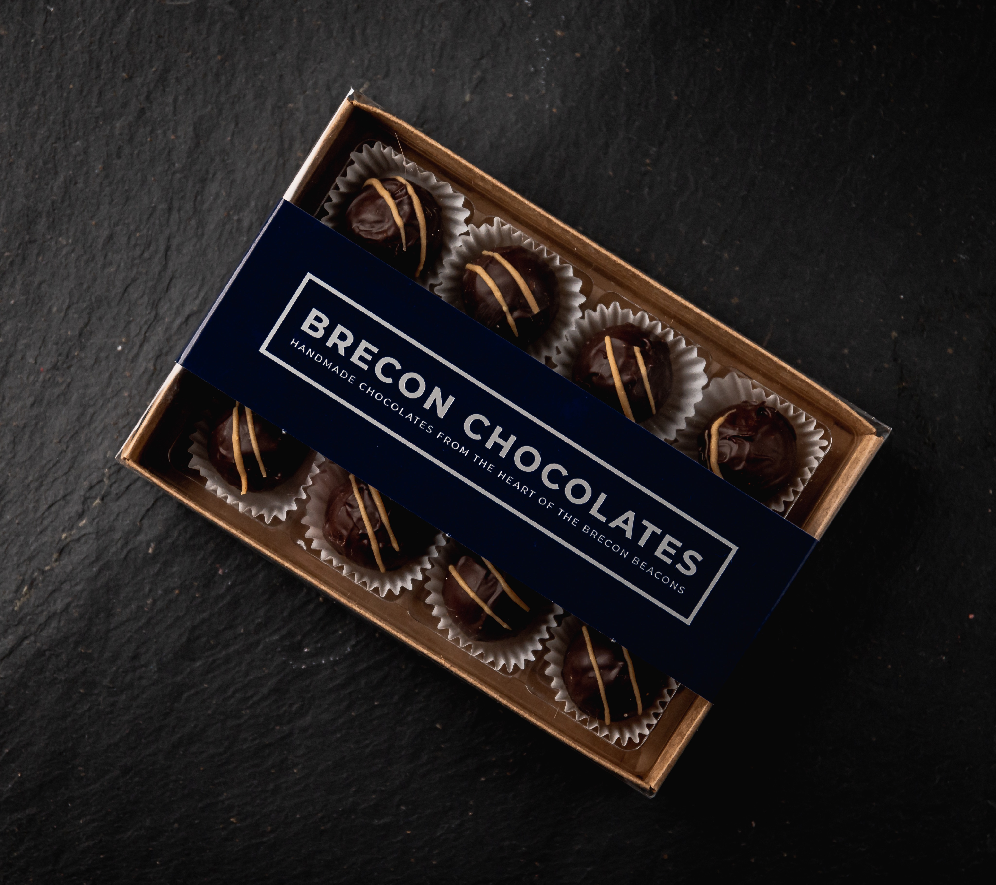12# Dark Chocolate Salted caramels.