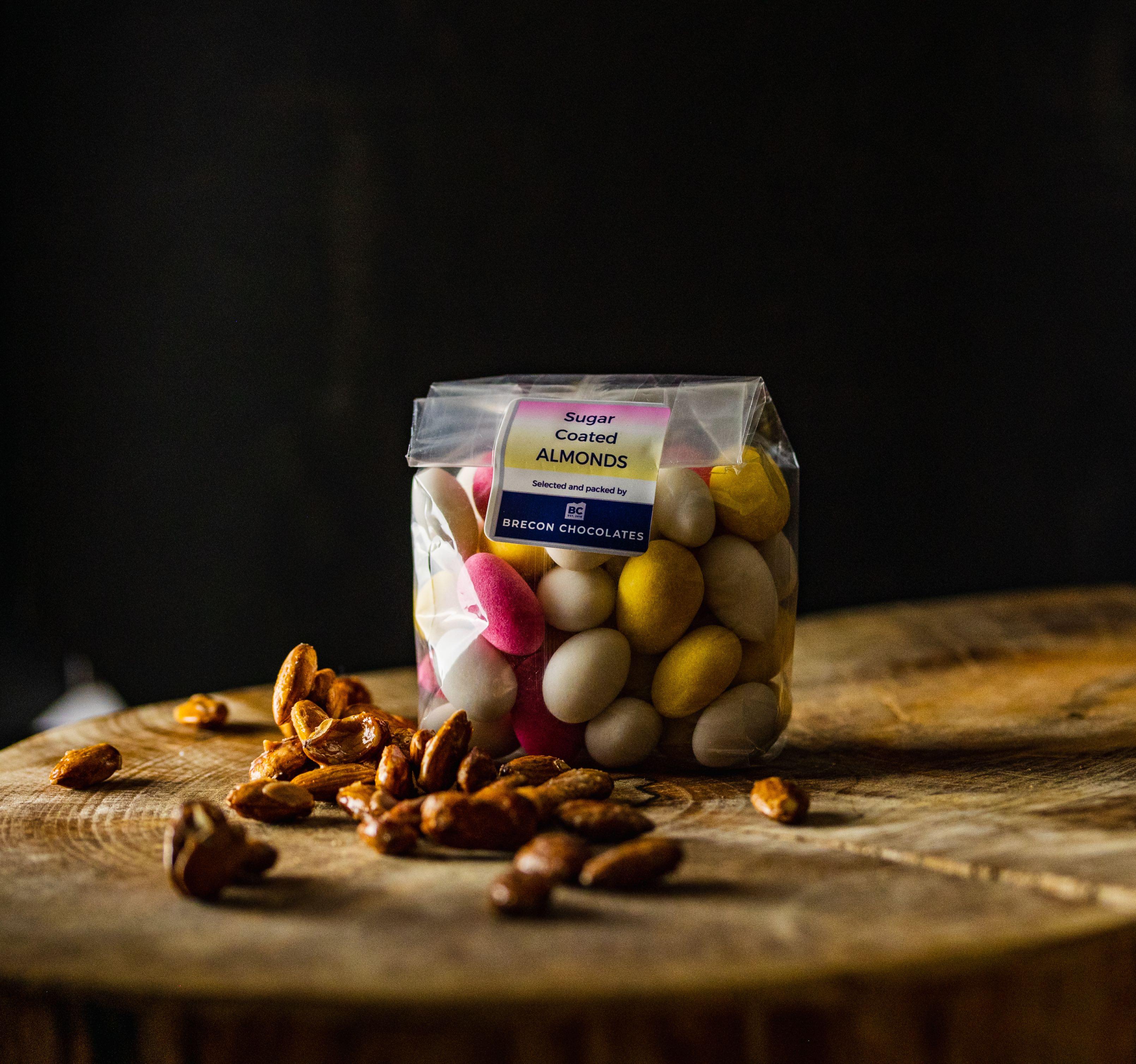 Sugared Almonds. 200g bag.