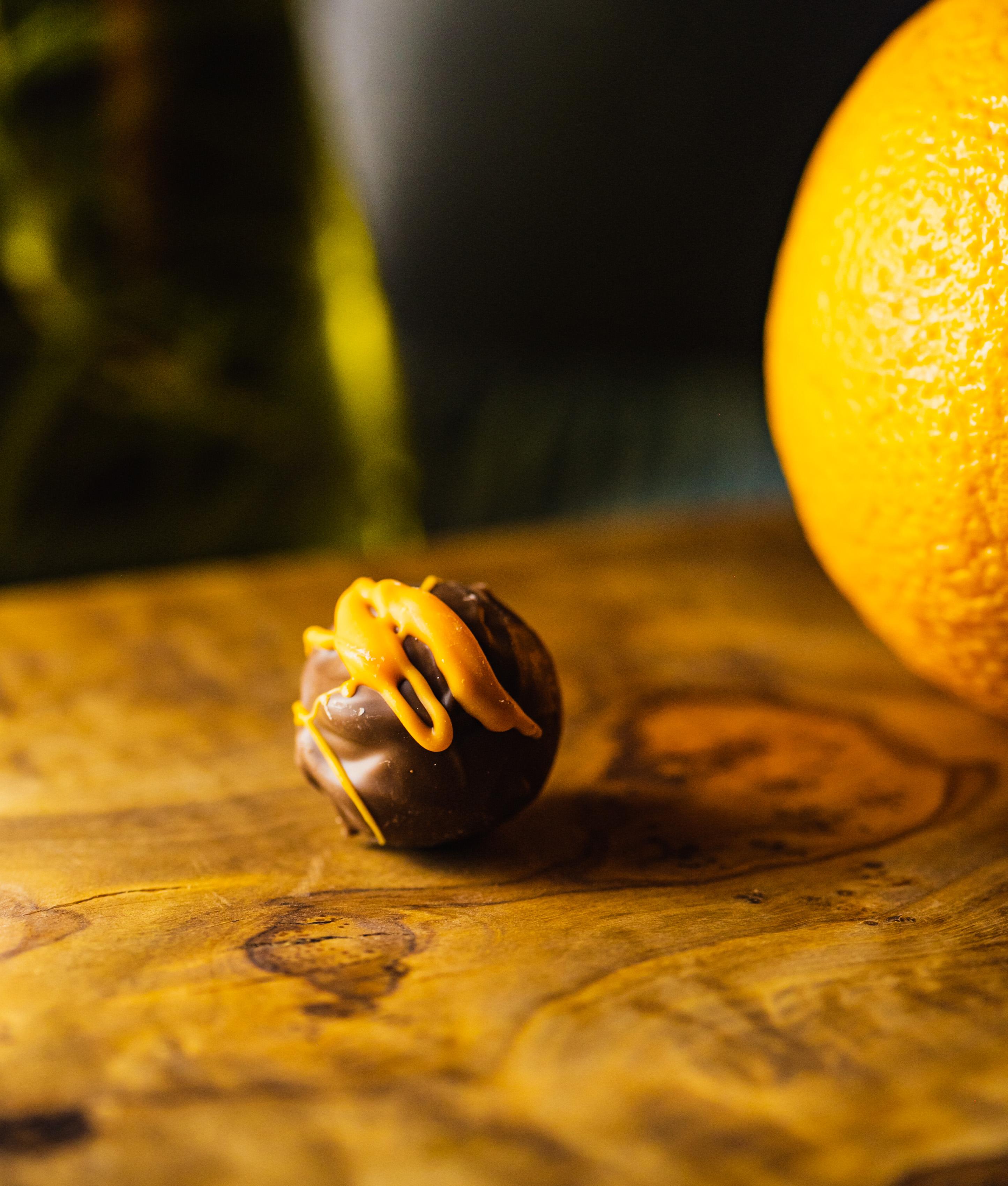 Milk Chocolate Orange Truffle