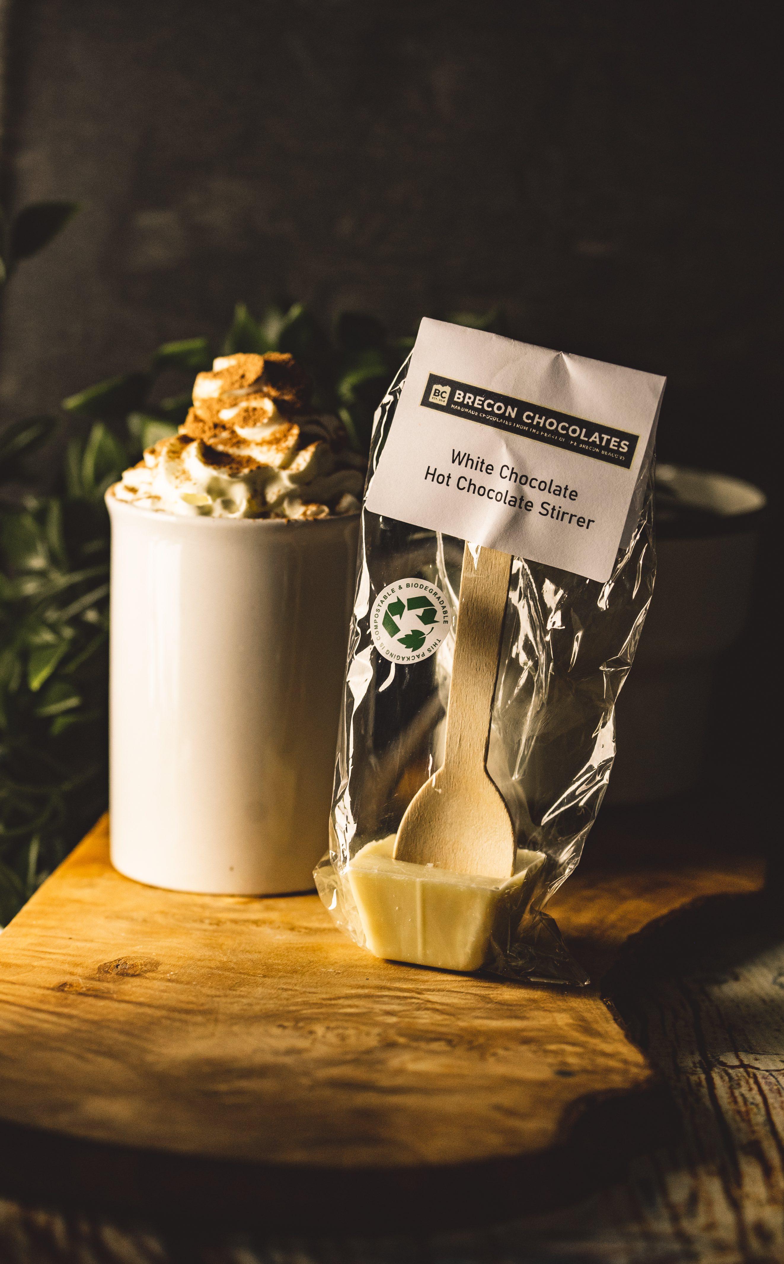 White Chocolate Hot Chocolate Stirrer