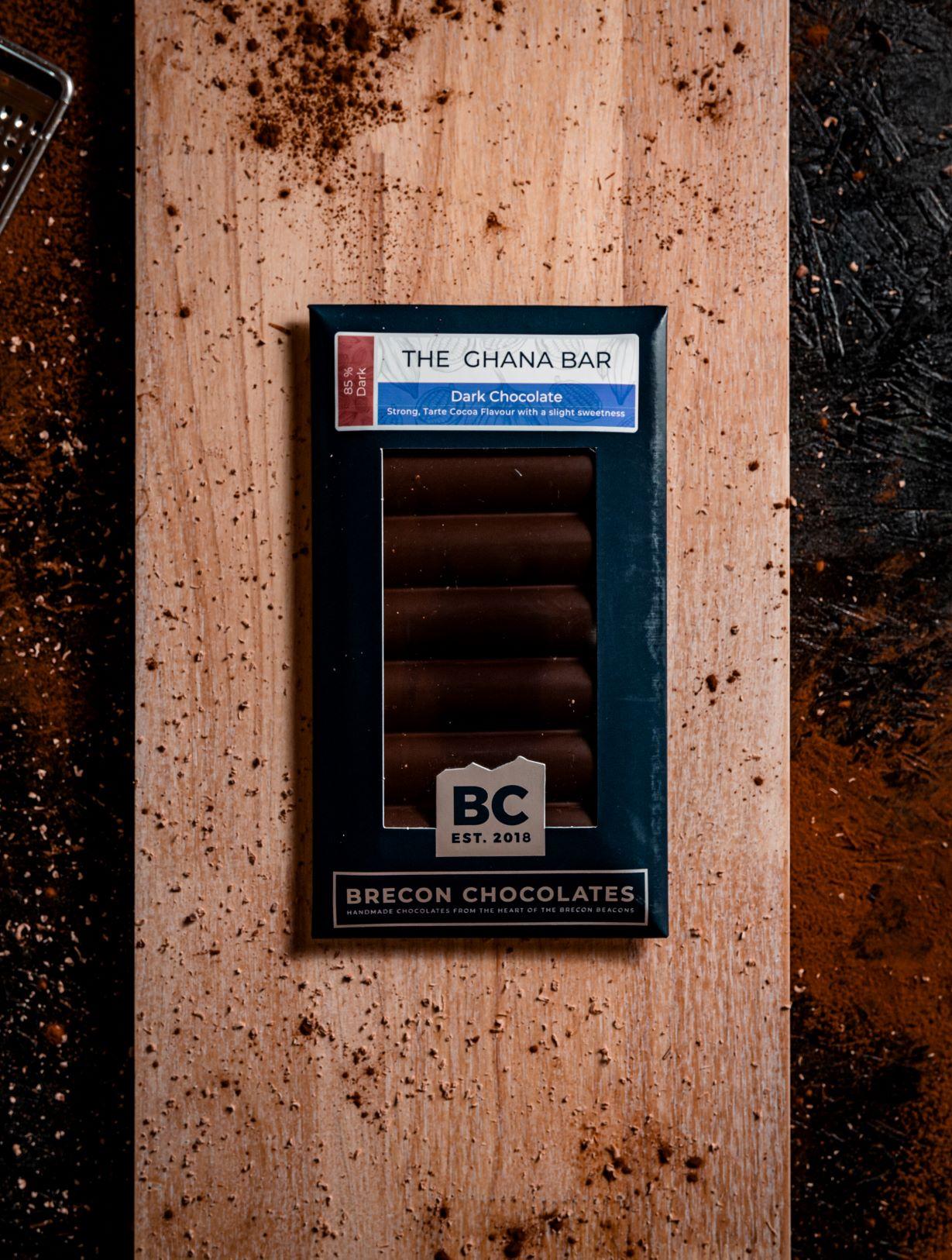 85% Ghana Dark Chocolate bar