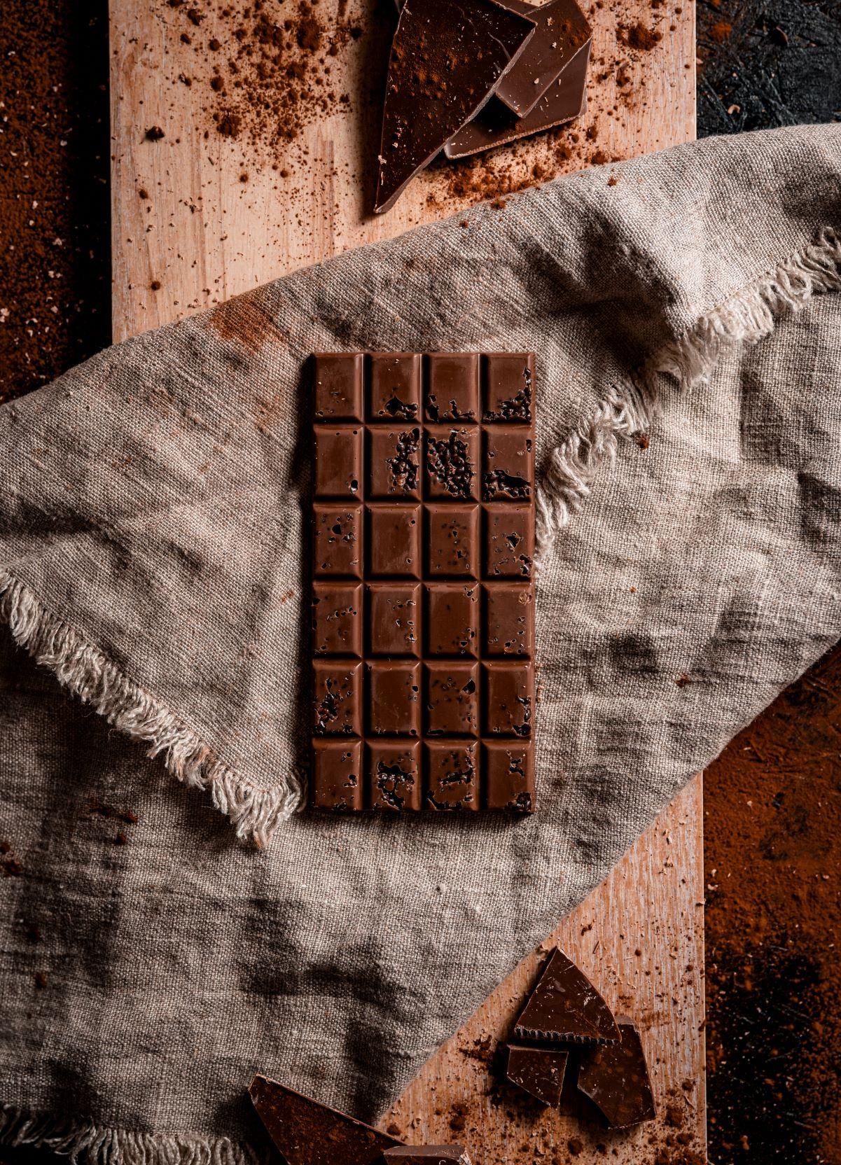 Milk Chocolate Popping Candy 100g Bar