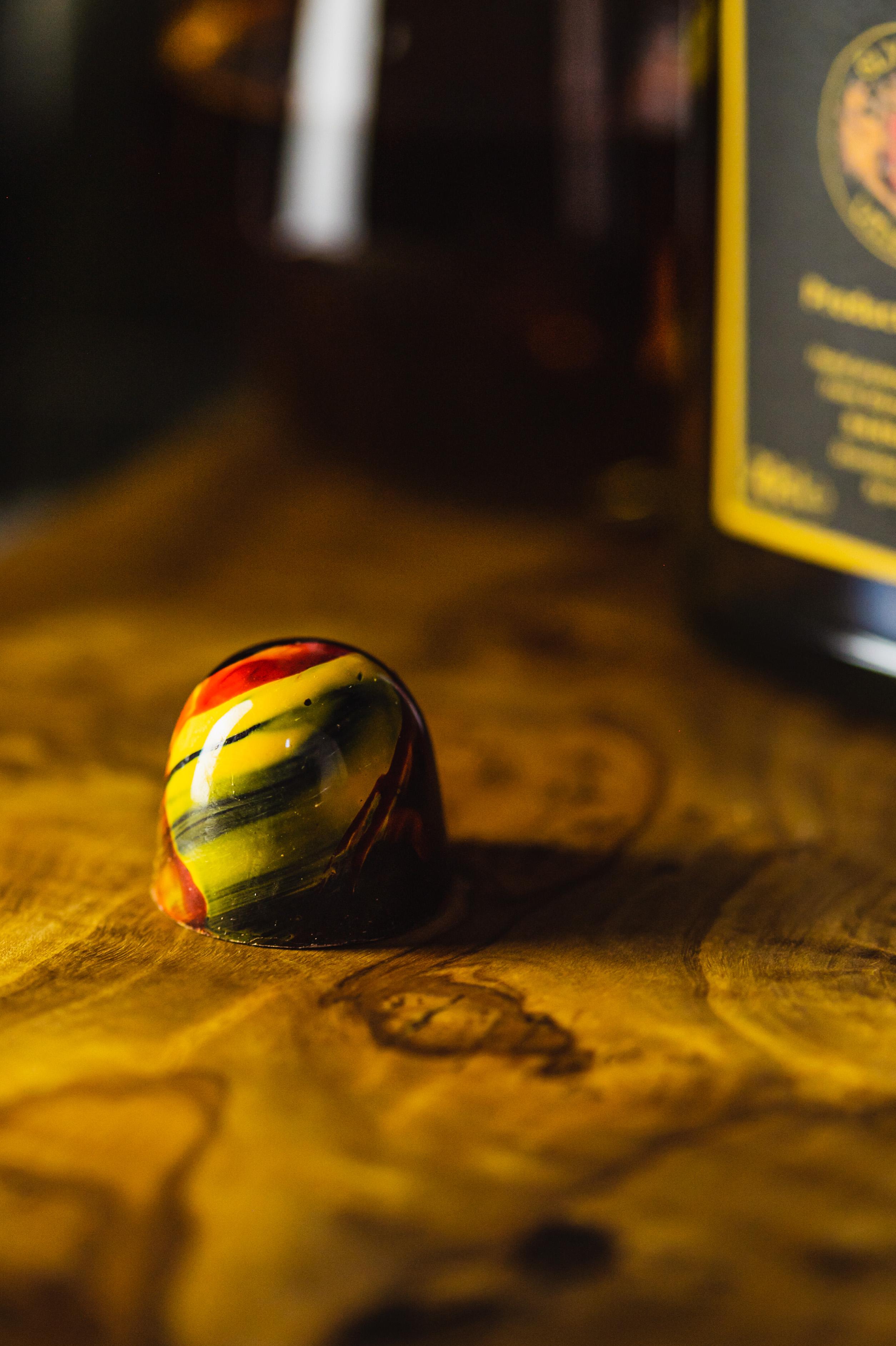 Dark Chocolate Glyndwr Brandy BonBon