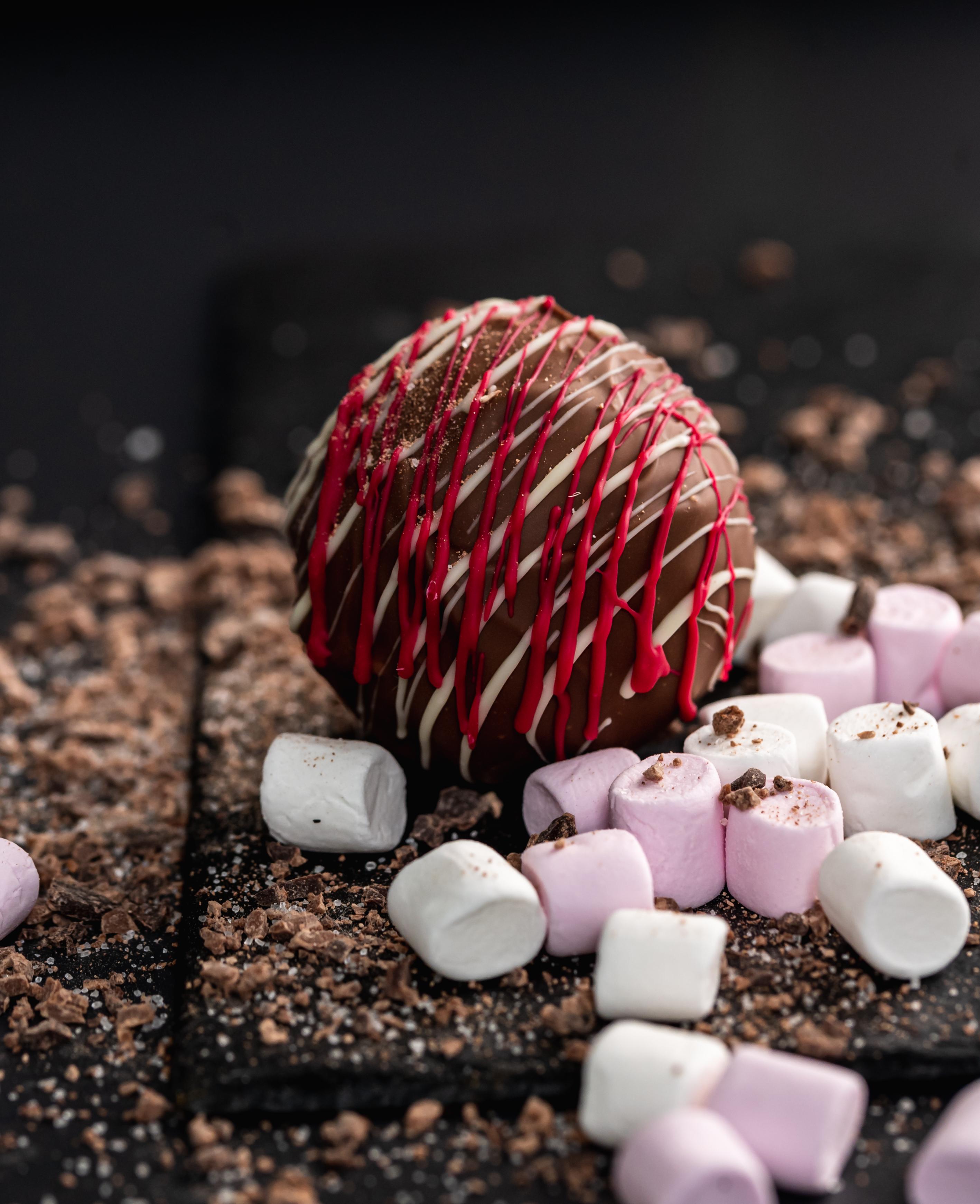 Milk Chocolate Hot Chocolate Bomb