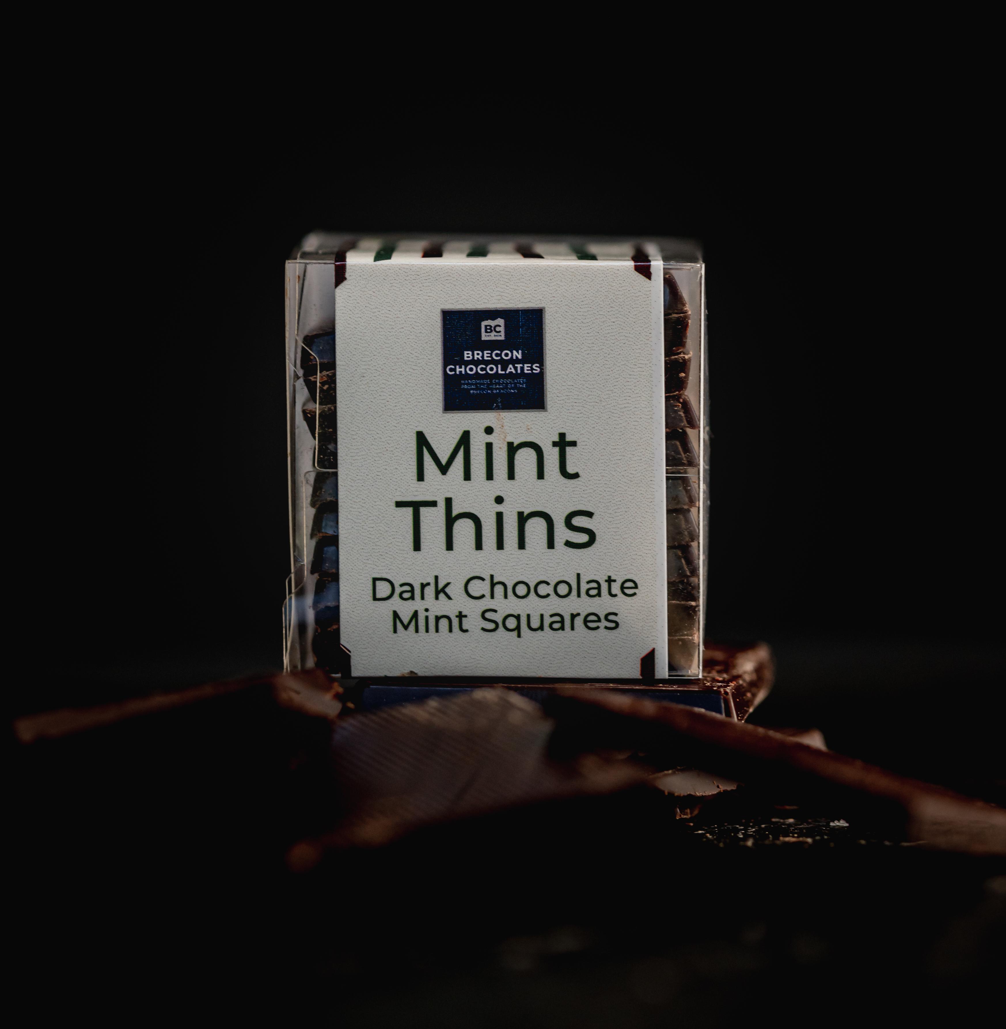 10 Dark Chocolate Mint Thins