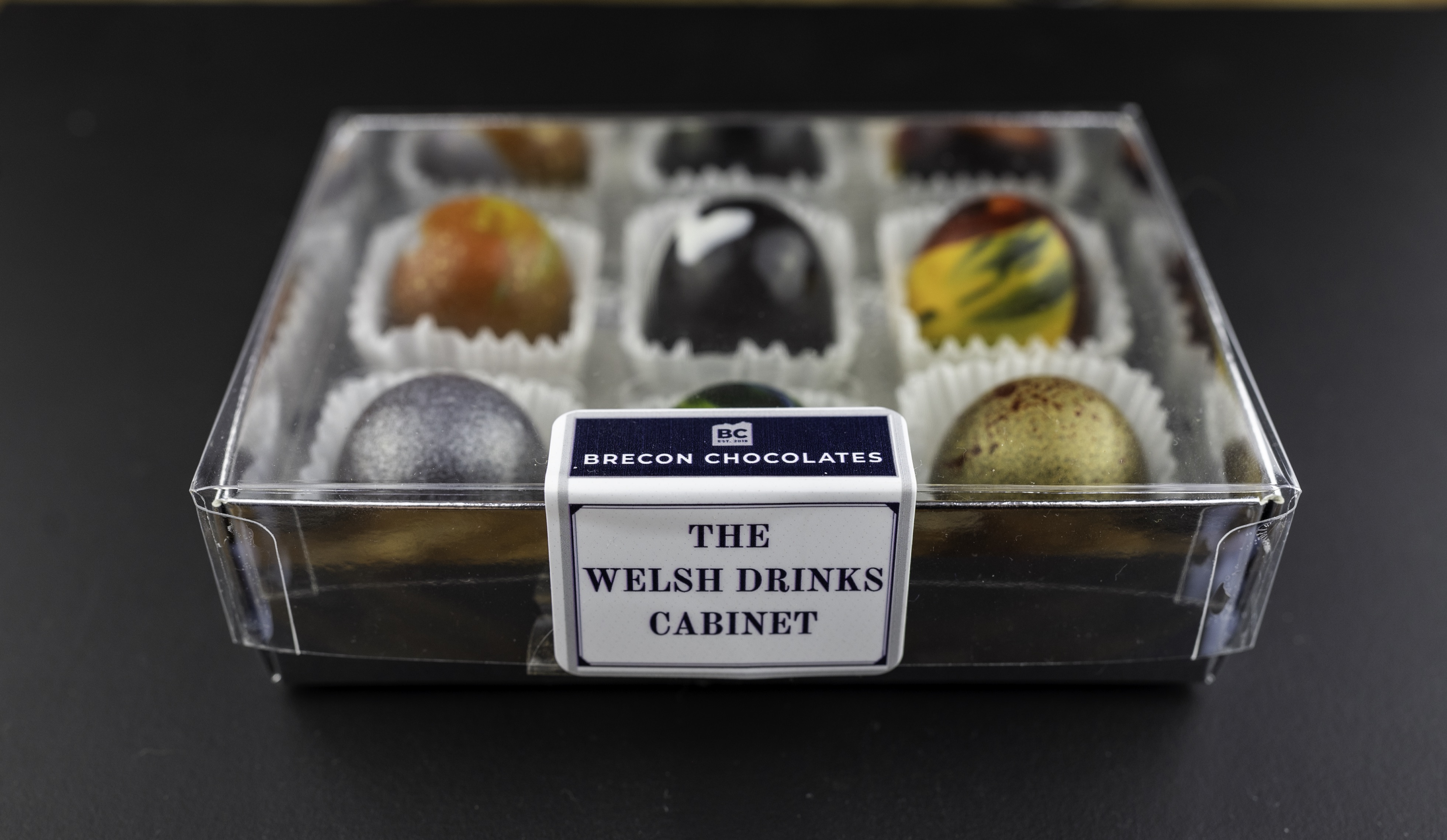 The Welsh Drinks Cabinet. Welsh Liqueur Chocolates.