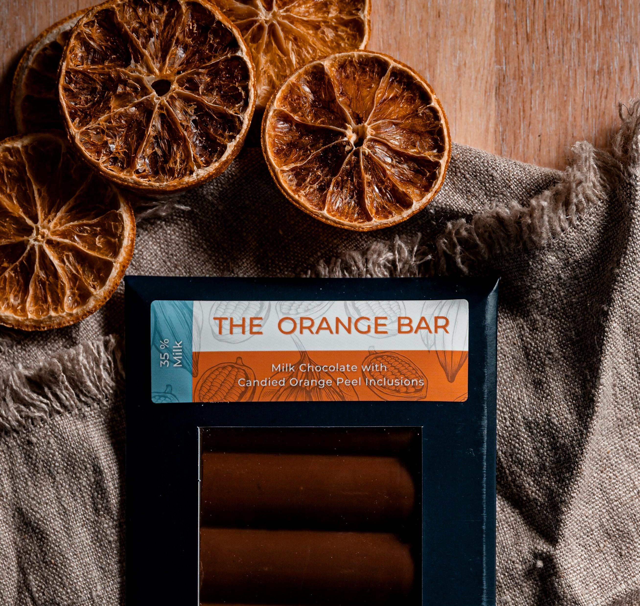 Milk Orange Peel Bar