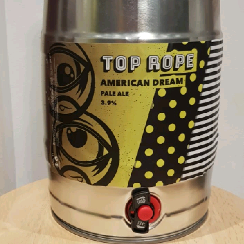Top Rope American Dream 5ltr Mini Keg