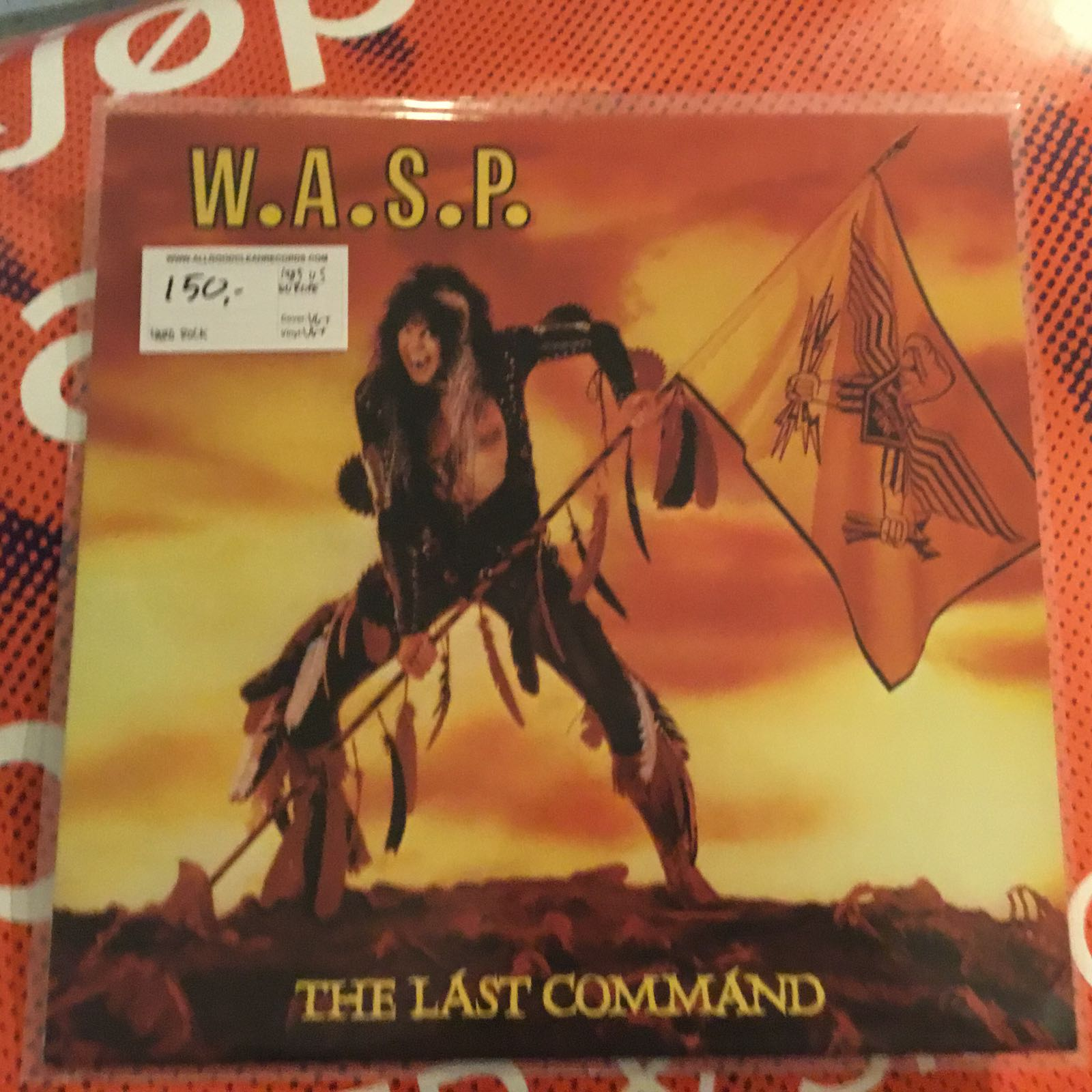 W.A.S.P – The Last Command [LP] (2. hand)