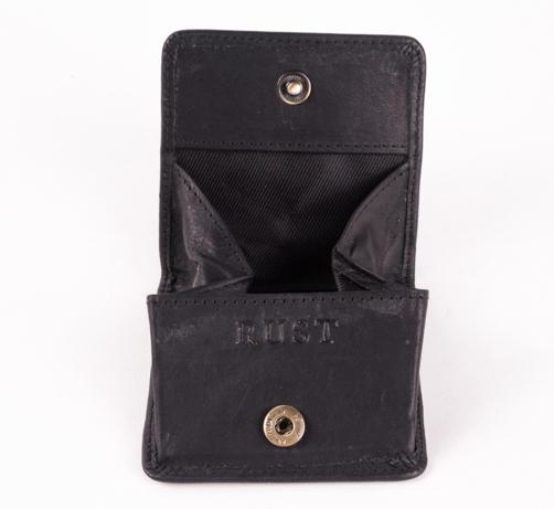 Folding Coin Pocket Black