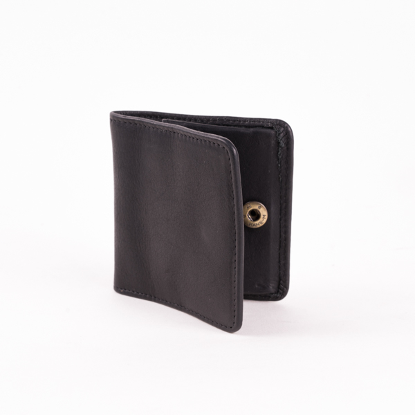 Folding Coin Pocket Black