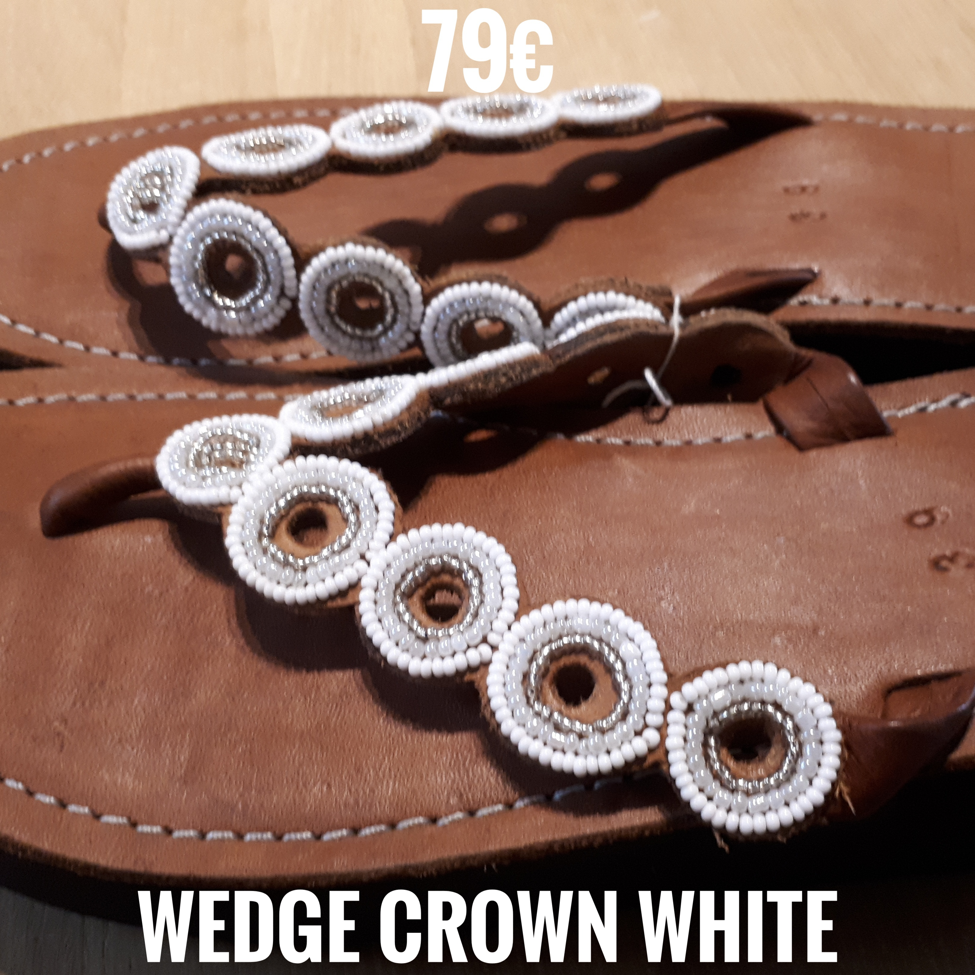 Wedge Crown White