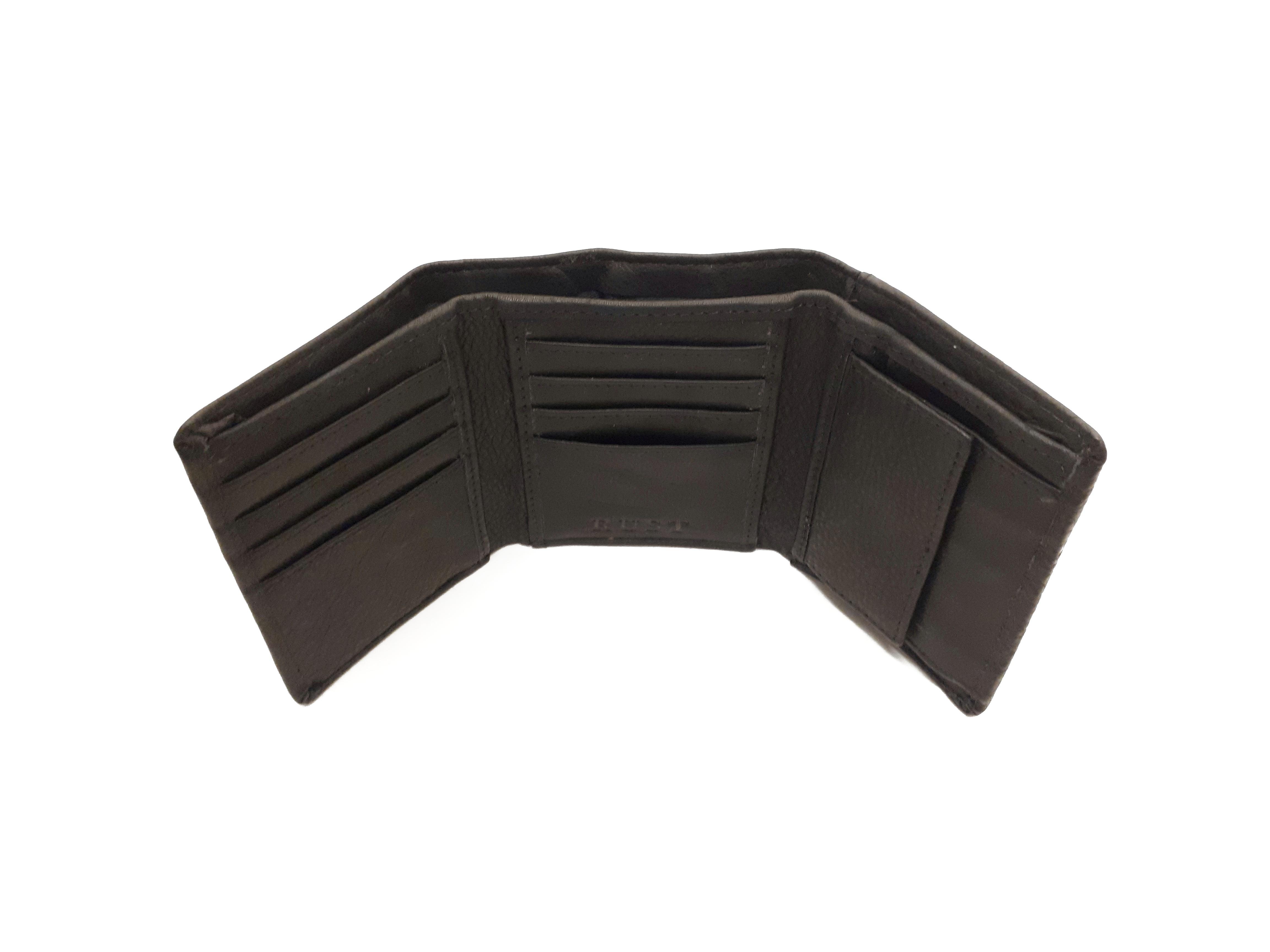 Berliner Trifold Wallet Black