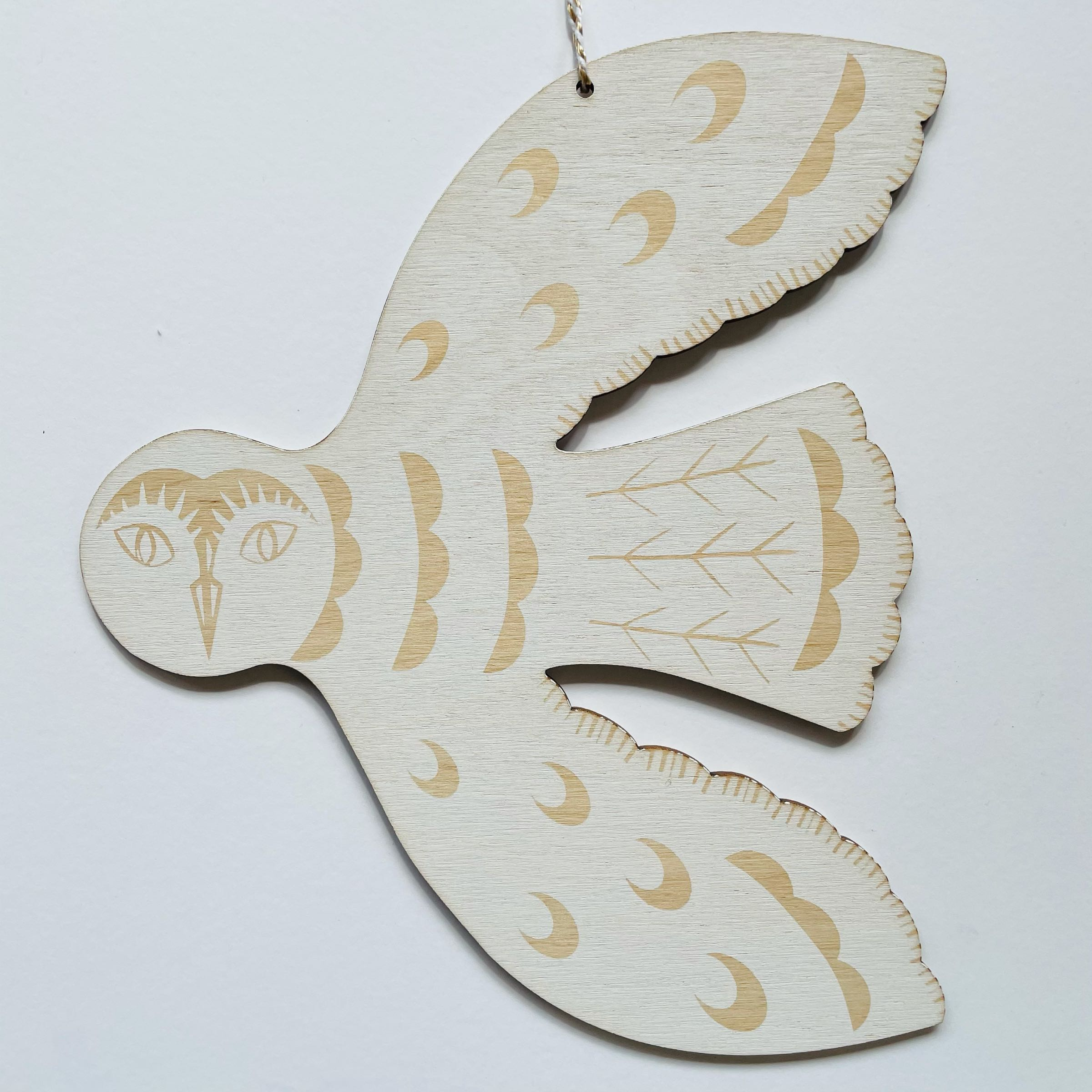 Hanging Owl by Kate Millbank