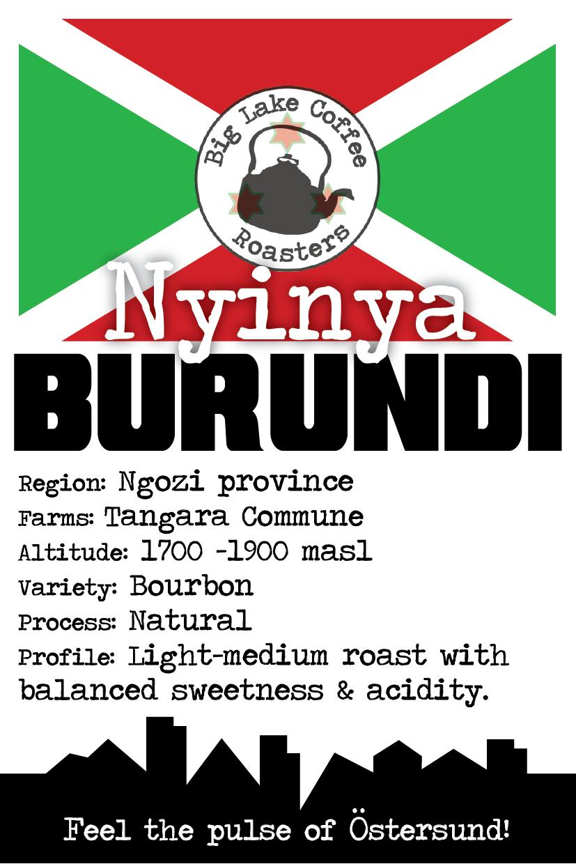 Nyinya Hill, Burundi