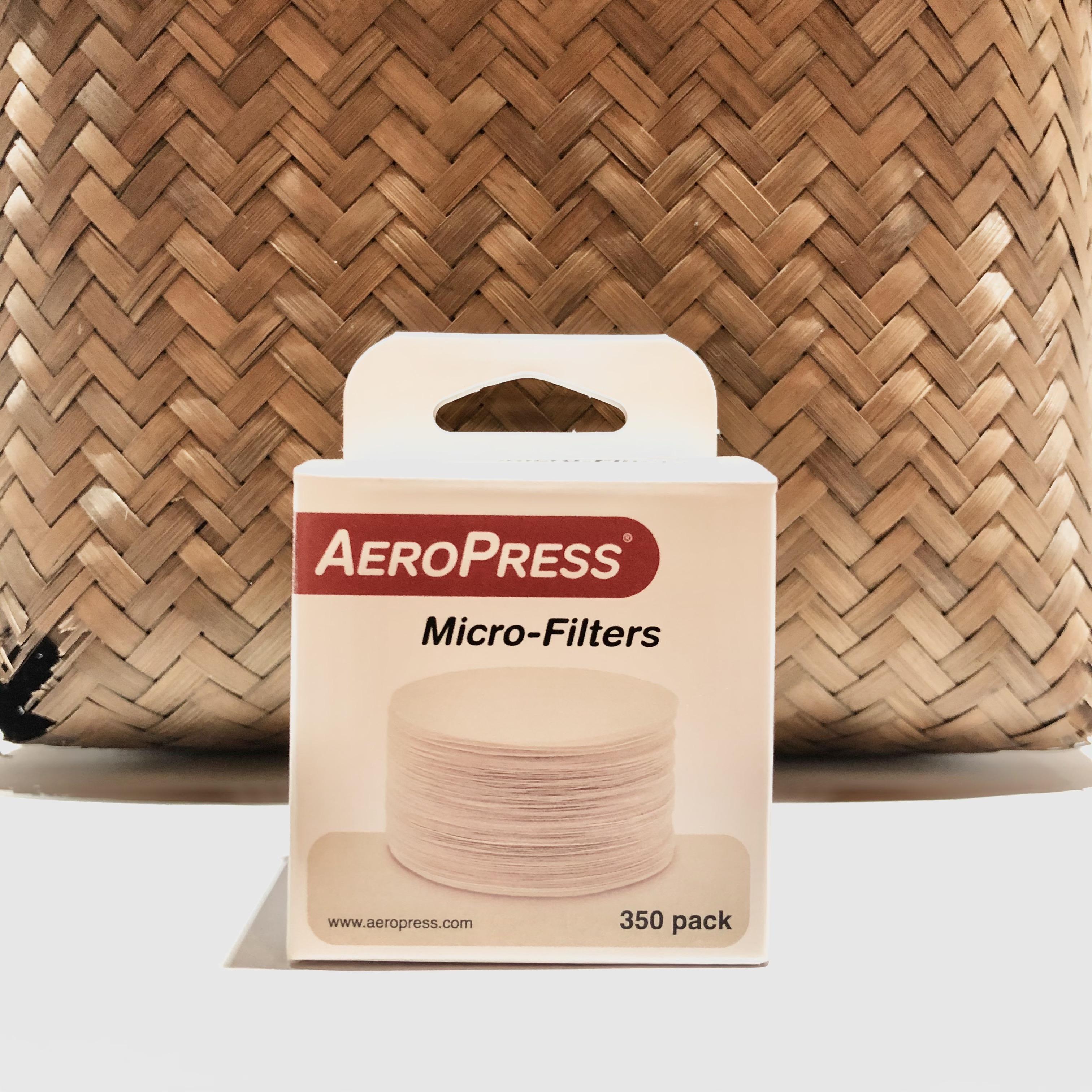 Aeropress filter refill
