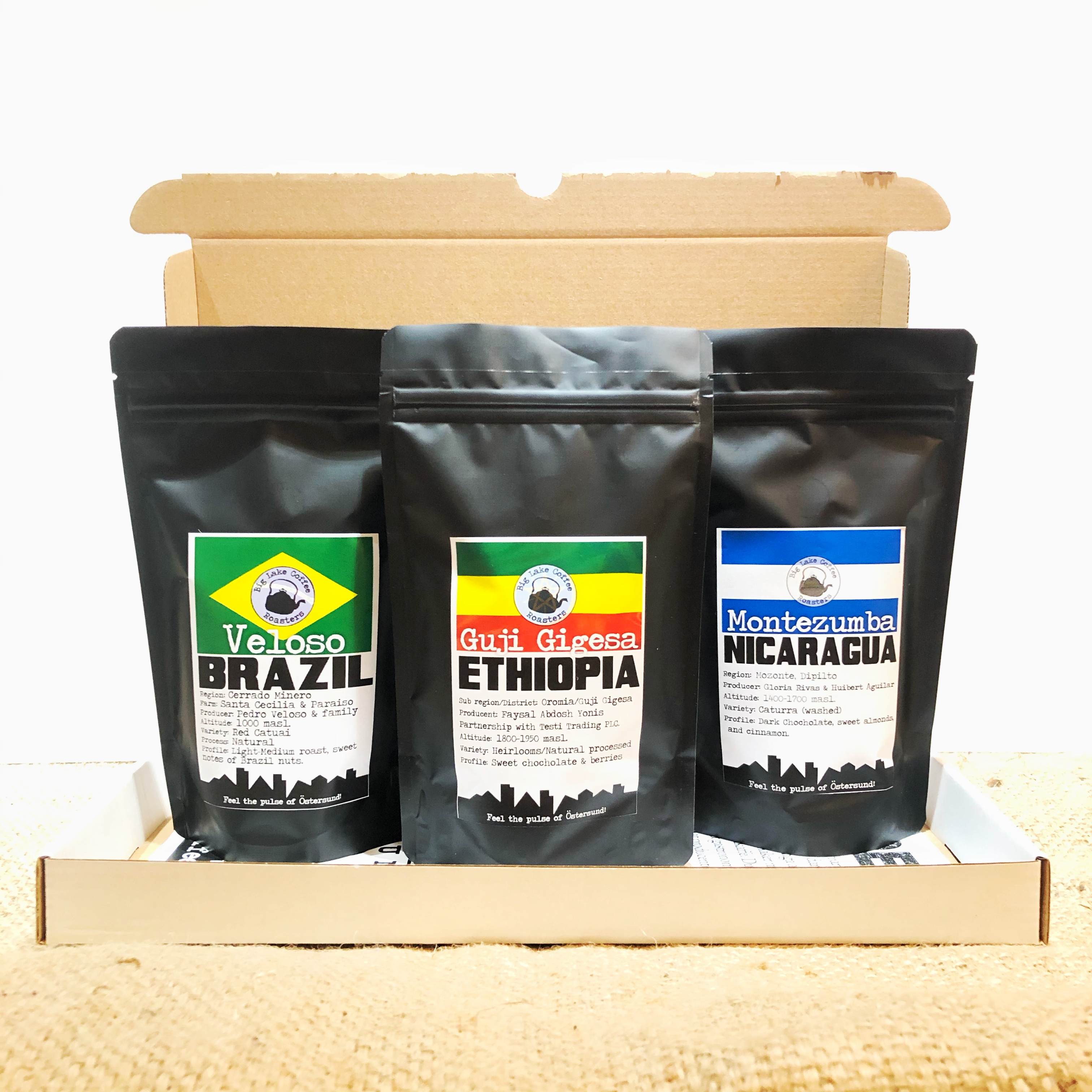 Coffee travels 3 x 100g