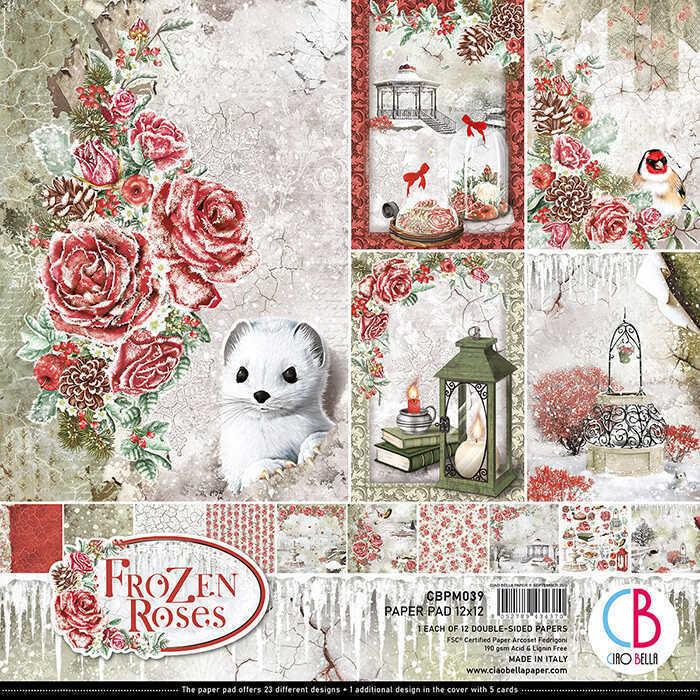 Ciao Bella 12x12 paper pad,cpbm039