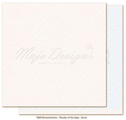 Maja design monochromes, Shades of the alps, Snow