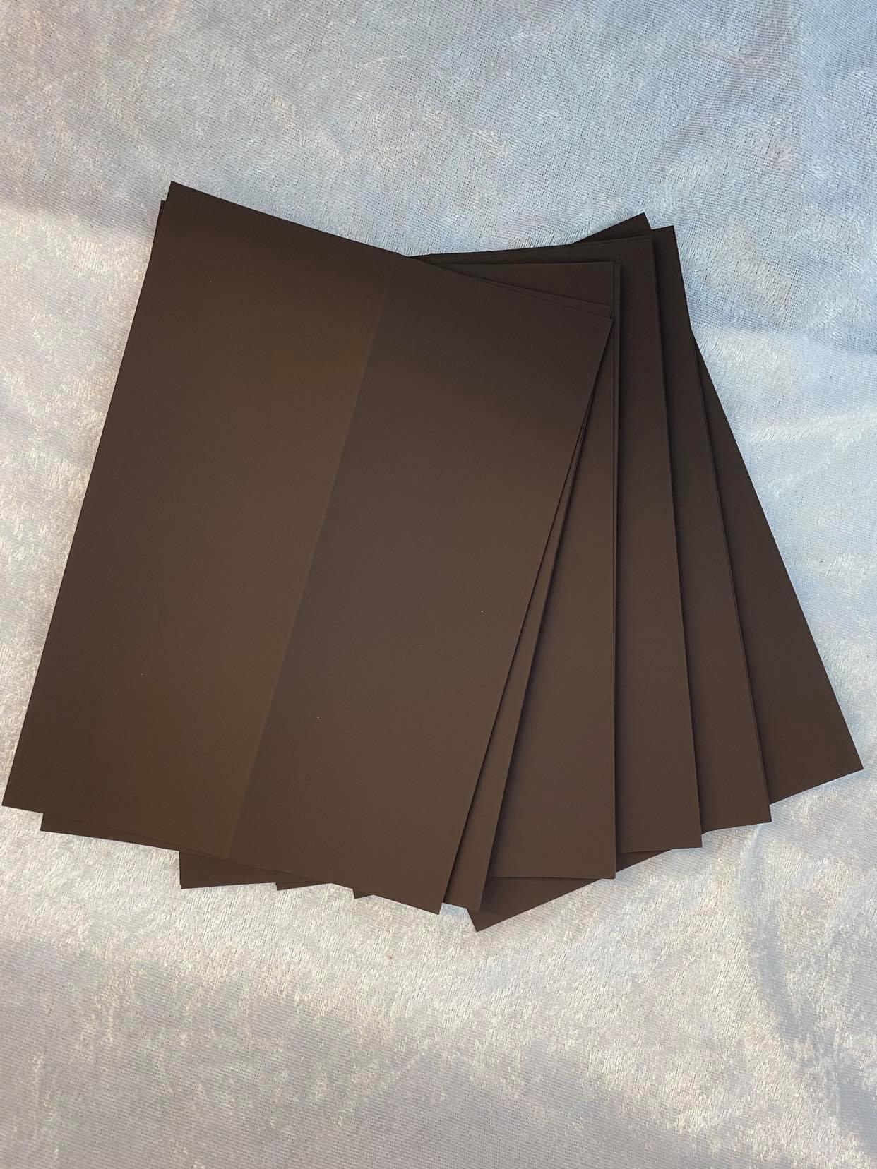 Slimcard kort base brun. TILBUDSPRIS:  10 stk. kun kr 25,-