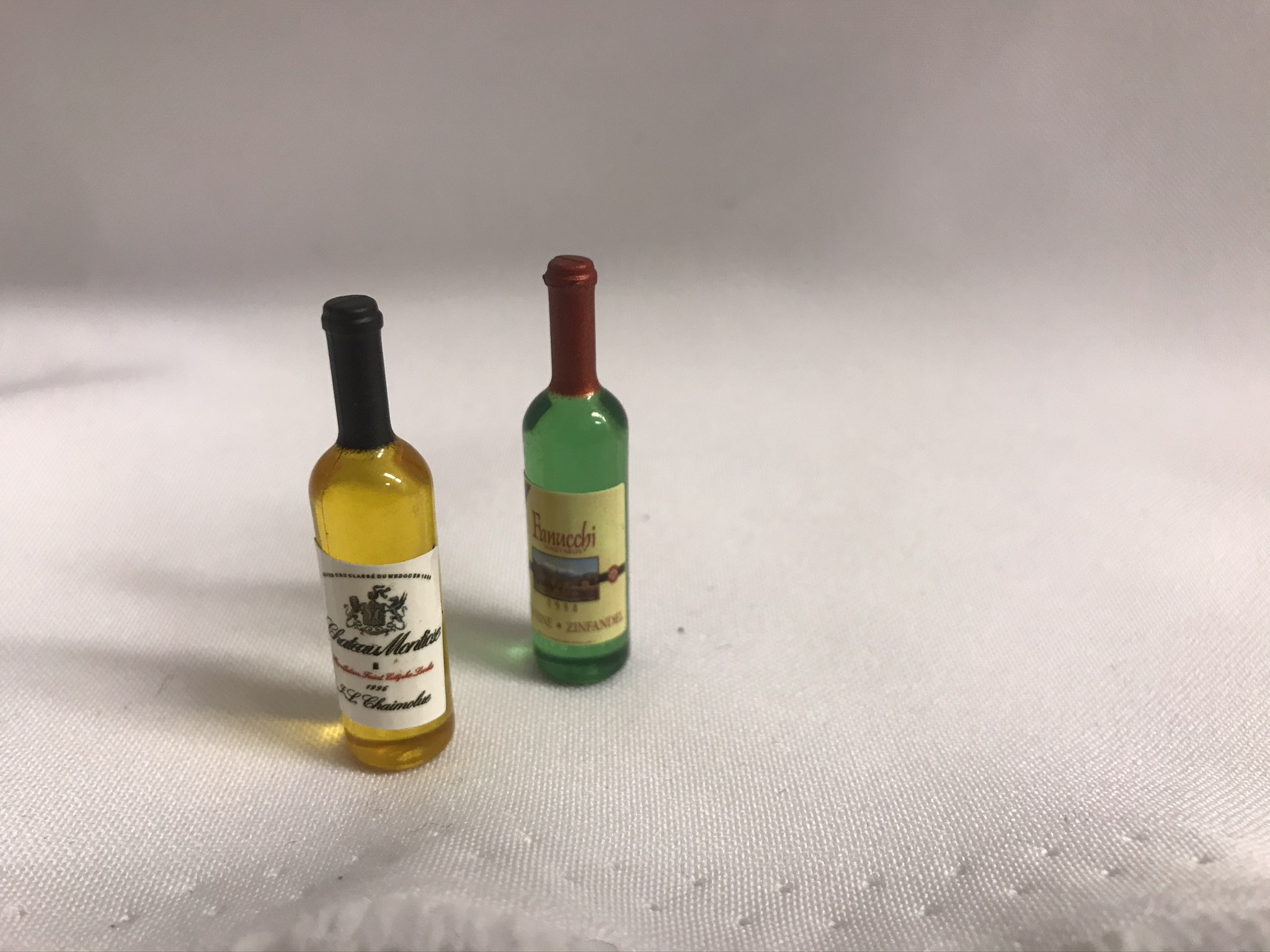 Mini hvitvins flasker 2pk