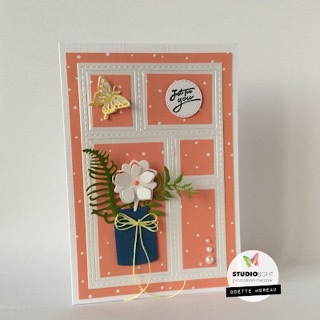 Studiolight Sweet flowers cutting & Embossing