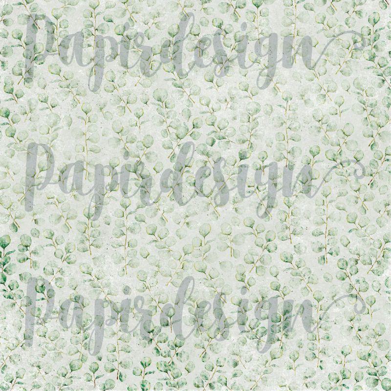 Papirdesign - vårtegn - eucalyptus PD 2100596