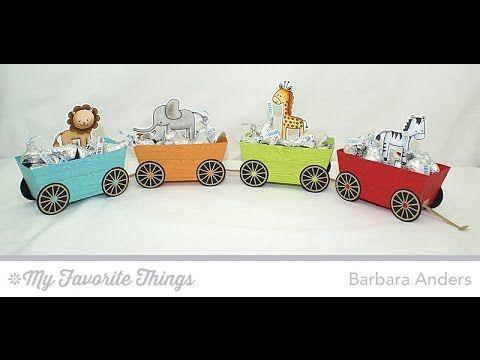 Die-namics my favorite things - Train. 3D Tog-vogn.