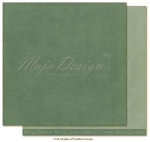 Maja Design, Monochromes - Shades of Tradition - Green. Mono-1132