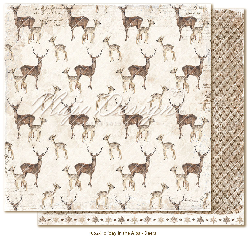 Maja design, Holiday in the alps, Deers