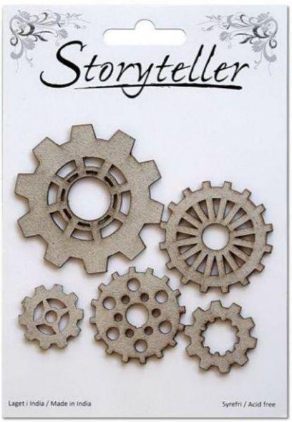 Storyteller - Chipboardfigurer - Tannhjul