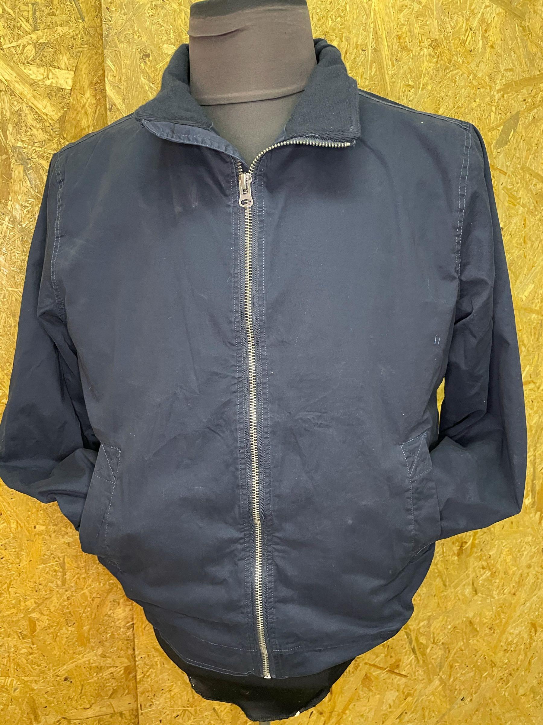 North 56˚4 bomulds jakke Blå