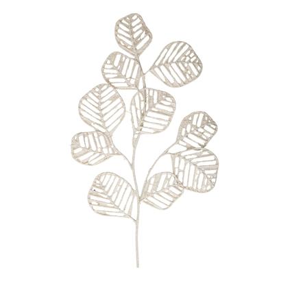 Blomingville-Væg Dekoration, Hvid, Metal