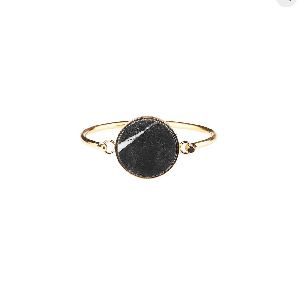 Plissé Copenhagen - Marble bracelet giant