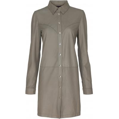 Fürst - Lang skind kjole/skjorte