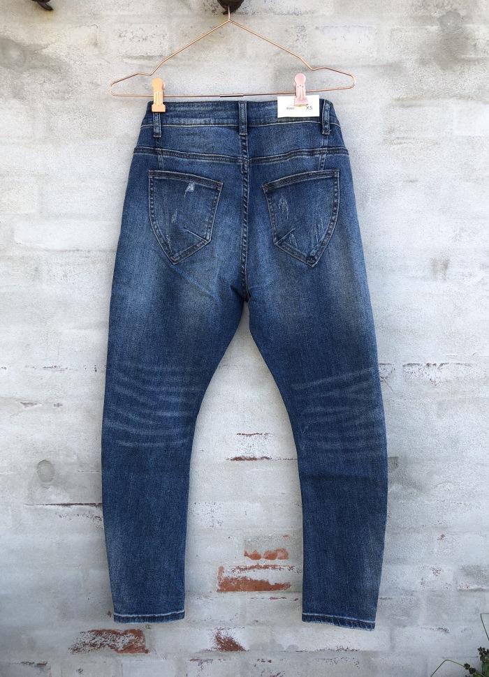 Cabana Living - Baggy Dark Blue Jeans