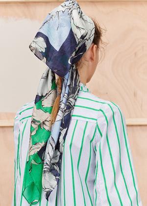 Munthe - tirana silketørklæde
