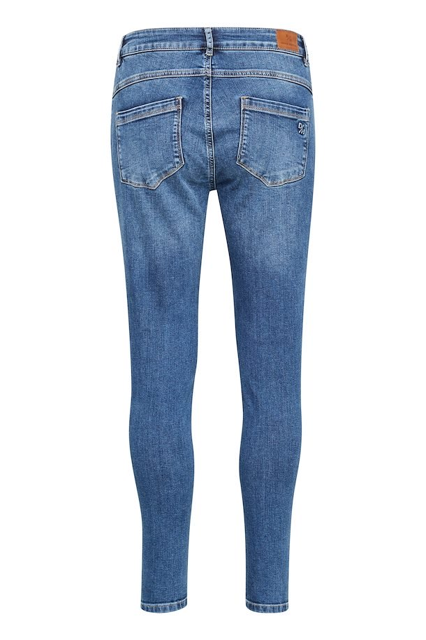 Denim Hunter - Cille Zip high (Medium Blue)