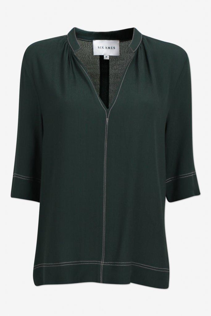 Six Ámes Myriam blouse, Black