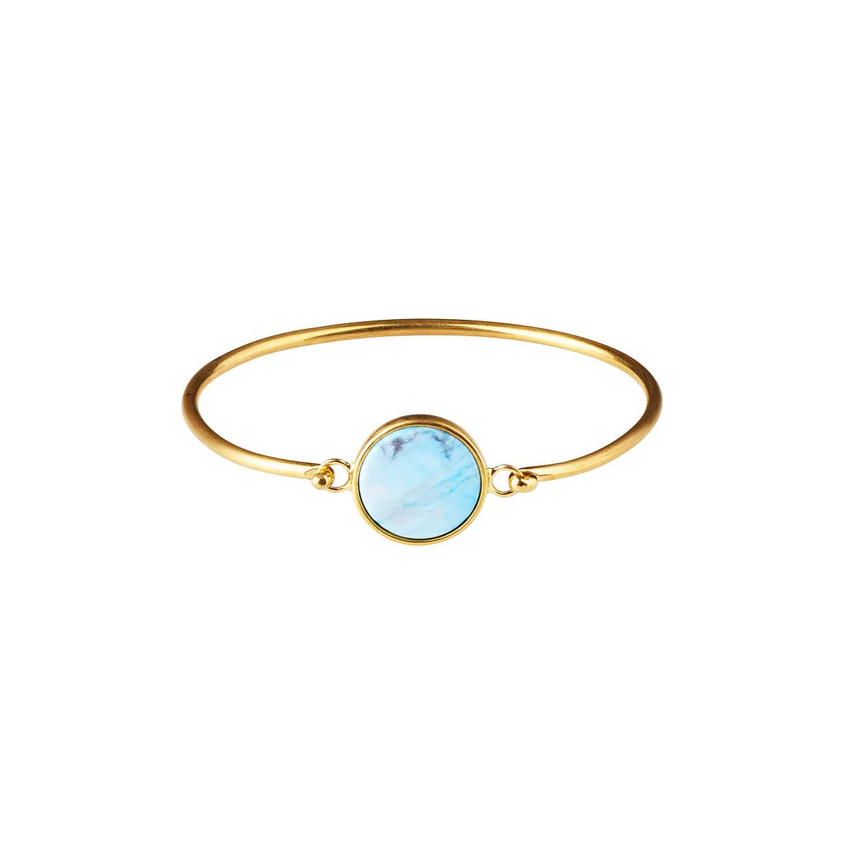 Plissé Copenhagen - Marble Bracelet Gold