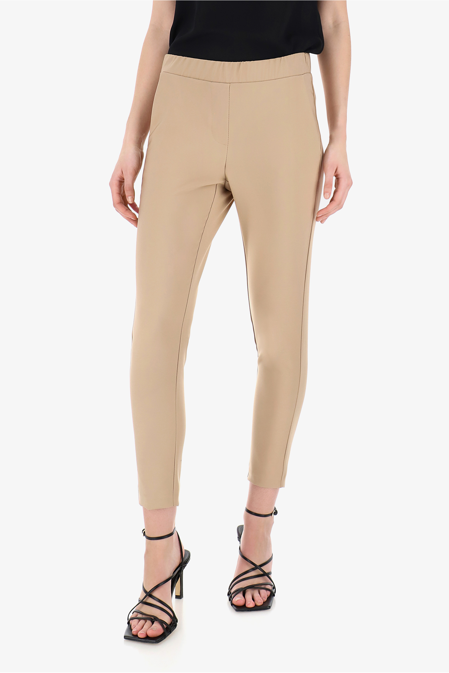 Imperial - SLIM TROUSERS WITH STRETCH WAISTBAND