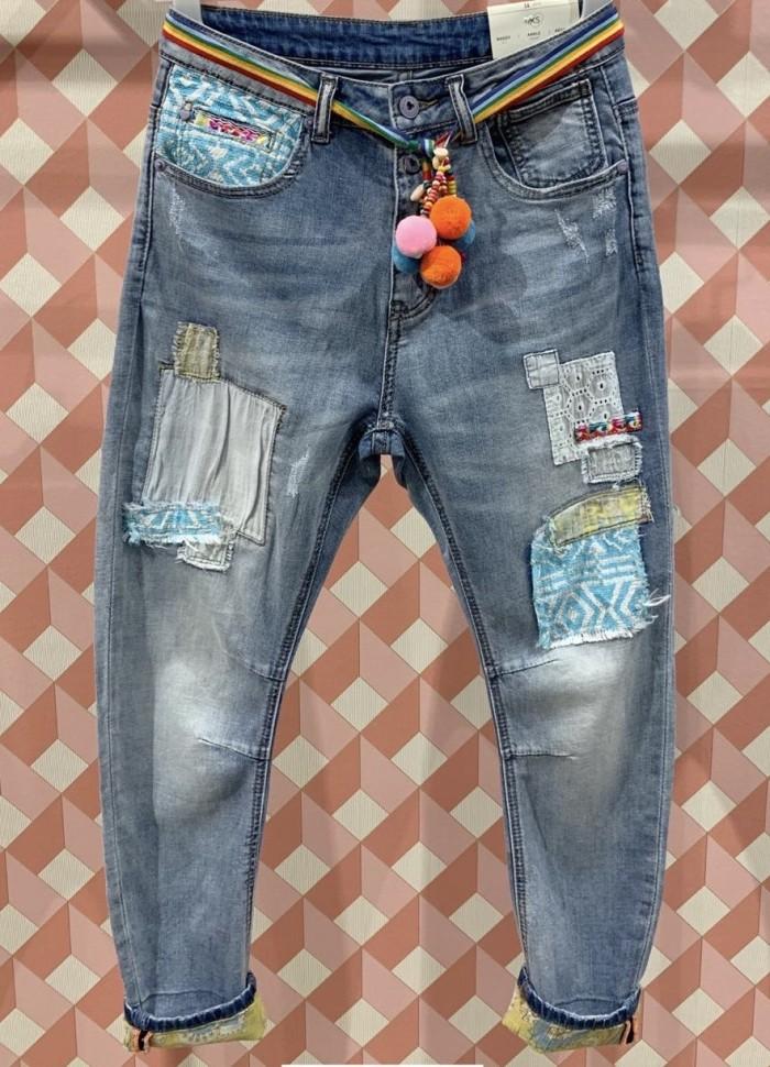 Cabana Living -  jeans med  lapper s