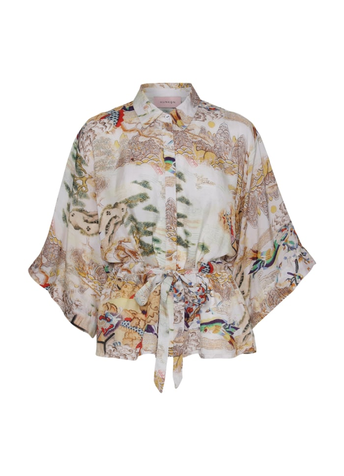 Hunkøn - Dragon Shirt