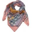 Justdlux-Big scarf silk - Rose