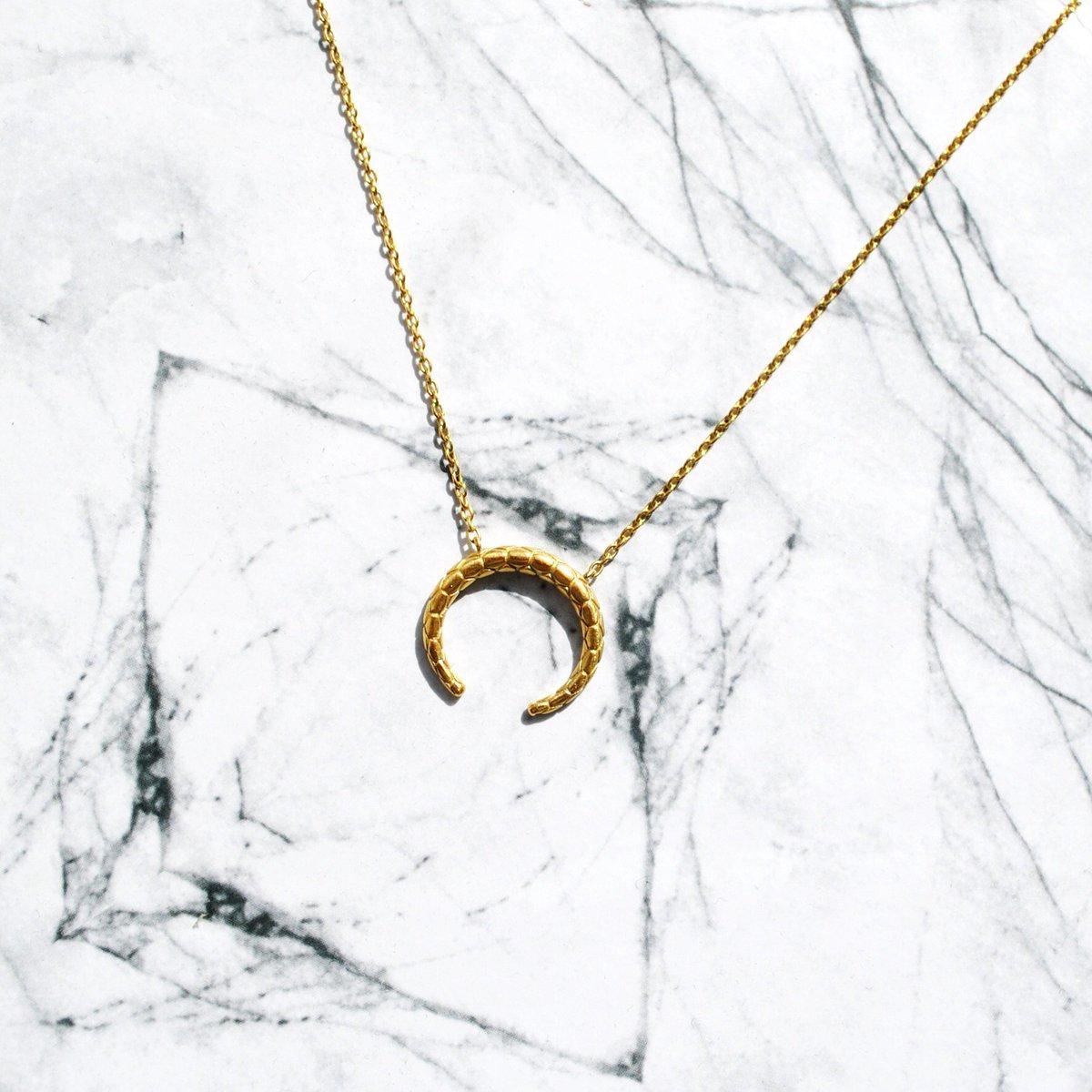 Hvisk - Honeycomb Tusk Necklace