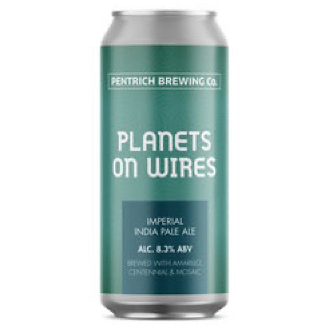 Planets on Wires - Imperial IPA 8.3% 440ml Pentrich Brewing Co